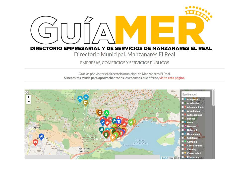 Guiamer, directorio municipal