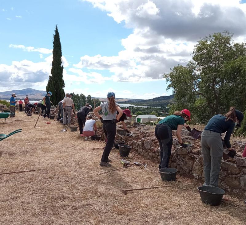 excavaciones Castillo Viejo